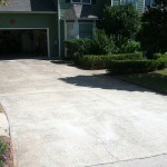 Before-Cracked Driveway